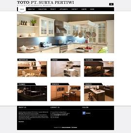 Contoh Desain Web Perusahaan