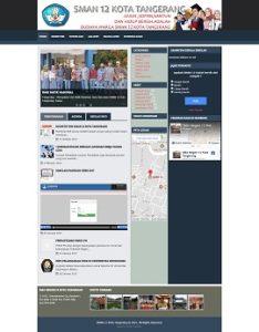 Contoh Desain Web Tangerang