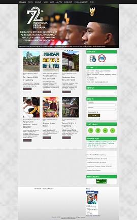 Contoh Desain Web di Bali