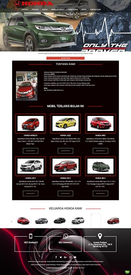 Contoh Desain Website Bandung
