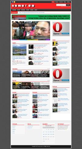 Contoh Desain Website Bekasi Utara