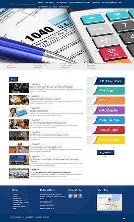 Contoh Desain Website Company Profile
