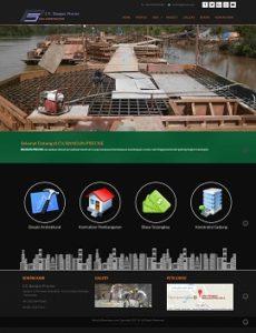 Contoh Desain Website Samarinda