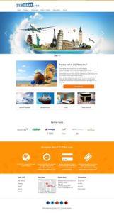 Contoh Desain Website Travel Agent