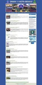 Contoh Desain website murah di bekasi