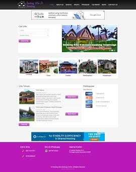 Contoh Desain Website Profesional Bandung