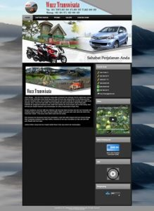Contoh Website Rental Mobil