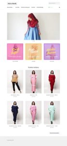 Contoh Desain Website Online Shop