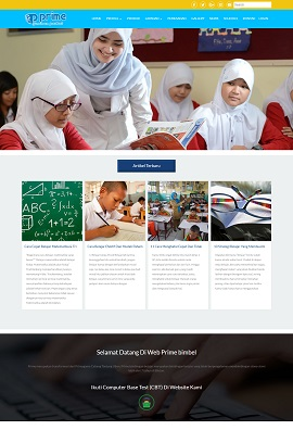 Contoh Website Harga 1,2 juta
