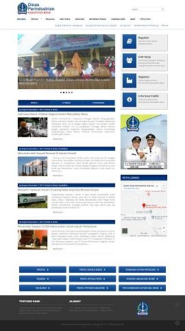 Contoh Website Pemerintah