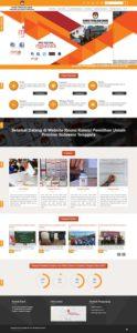 Contoh desain web developer pemerintah