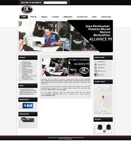 Contoh Website Responsive Bandung