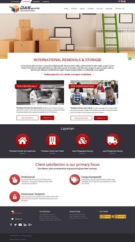 Contoh Desain Website Company Profile - www.dasmovers.com