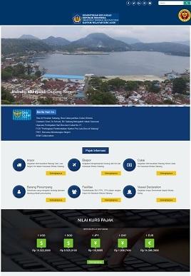 Contoh Hasil Desain Kami Website Pemerintah