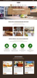 Contoh Hasil Desain Web Sederhana