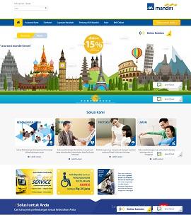 Contoh desain website asuransi