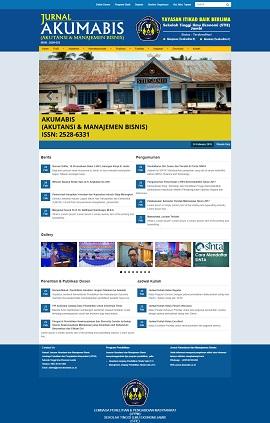 Contoh desain website kampus atau universitas