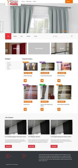 Contoh desain website toko online yogyakarta