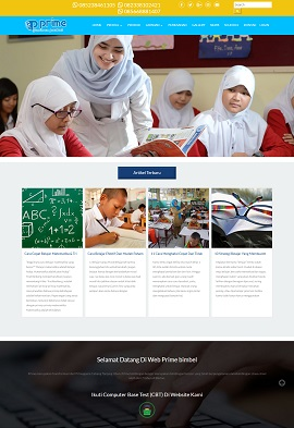 Contoh website termurah