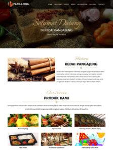 contoh Desain web restoran