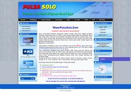 Contoh desain website di solo – www.pulsasolo.com