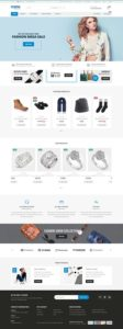 contoh desain web online shop