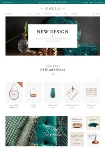 contoh desain web penjualan