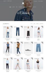 contoh desain web toko online
