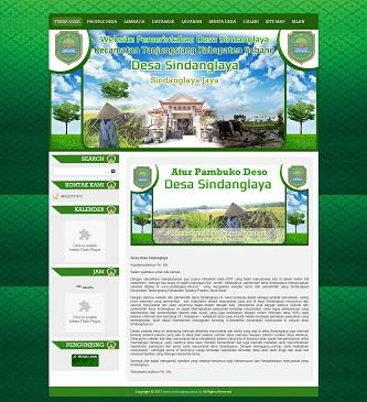 contoh web desa