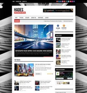 contoh web portal berita