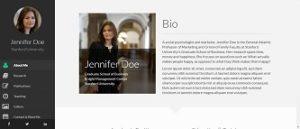contoh web profil pribadi