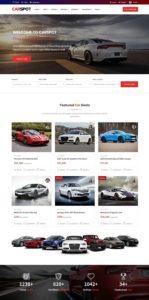 contoh web rental mobil