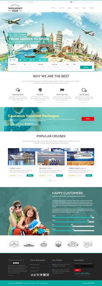 contoh website pariwisata