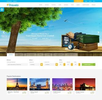 contoh website wisata