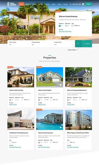 contoh tampilan website