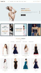 contoh web online shop
