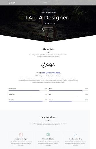 contoh web personal