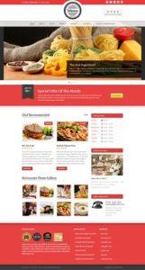 contoh website restoran