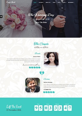 Desain website wedding invitations 3