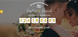 Desain website wedding invitations