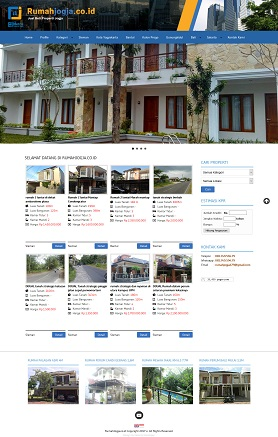 contoh desain website company profile - www.rumahjogja.co.id