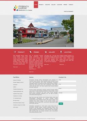 contoh desain website company profile - www.sepingganpratama.com