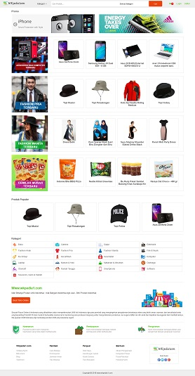 contoh desain website marketplace - www.wkpedia1.com