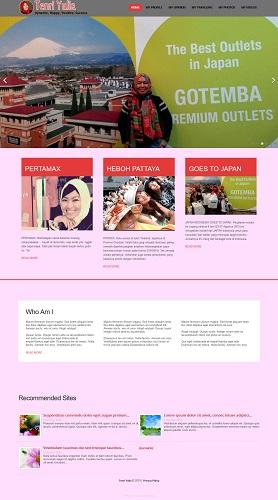 contoh desain website profile - www.tenriyulia.com