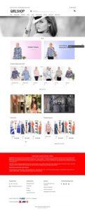 contoh desain website toko online - www.girlshop.id