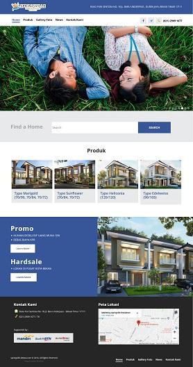 contoh desain website villa - www.springville-bekasi.com