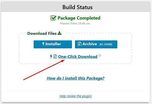 Duplicator Download Installer dan Archive