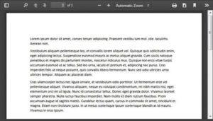 Iframe PDF