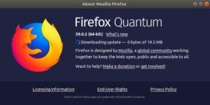 Firefox Versi 64
