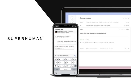 Superhuman email client